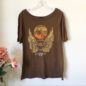UO Truly Madly Deeply Graphic Tee Size S